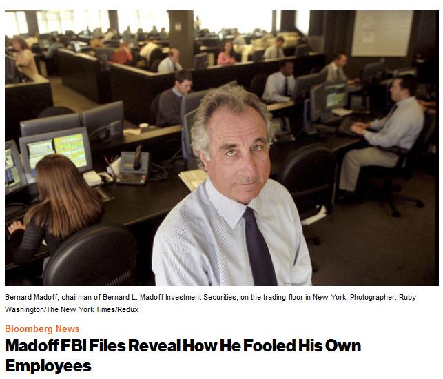 Madoff trading floor