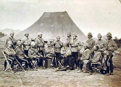 Afganistan_war_British_Officers_10th_Hussars_at_Jellalabad_1879