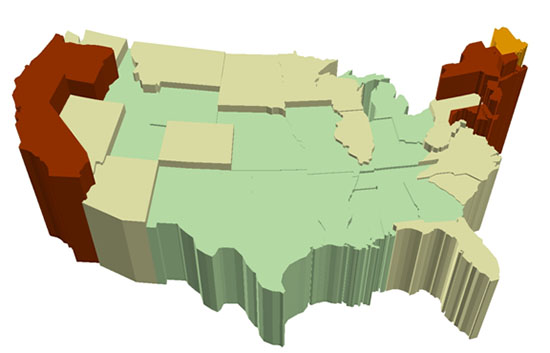 cost_of_living_states_2014_map