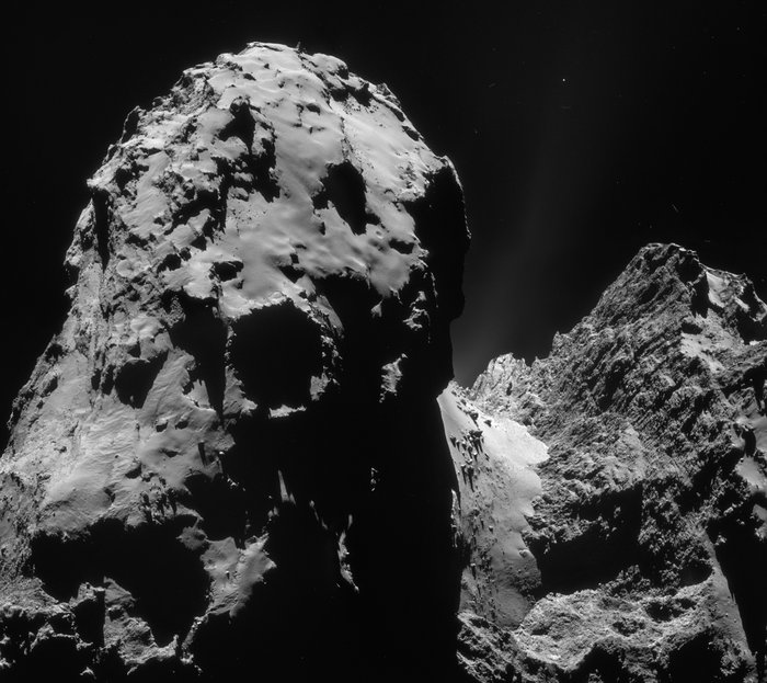 Rosetta - first spacecraft to orbit a comet