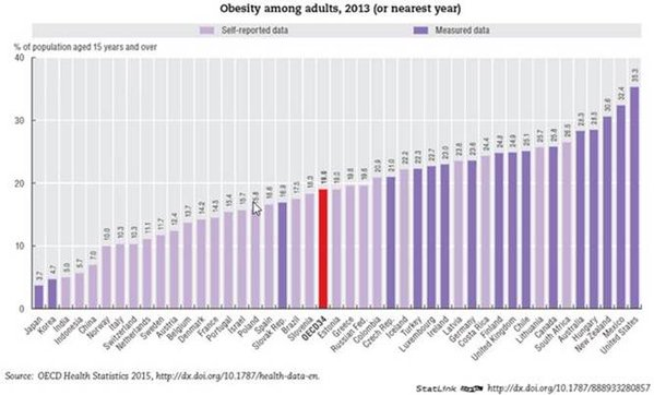 Obesity by countries