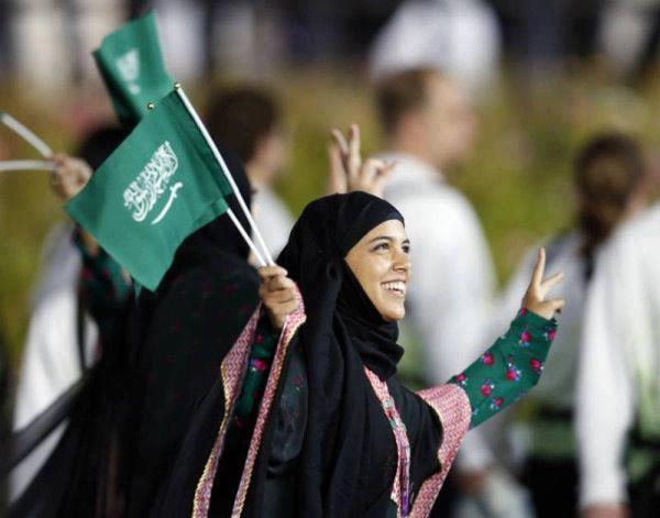 Саудийская атлетка Сара Аттар
