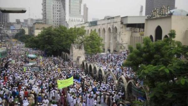 Bangladesh-anti-Buddhist-Protest