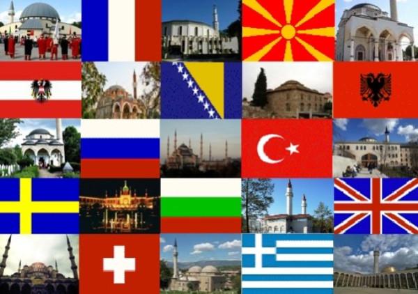 Численность мусульман в европейских странах