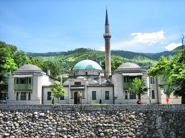 Emperor-Mosque-in-Sarajevo-Bosnia-Herzegovina