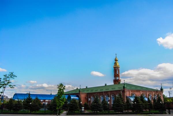 Соборная мечеть г. Назрань