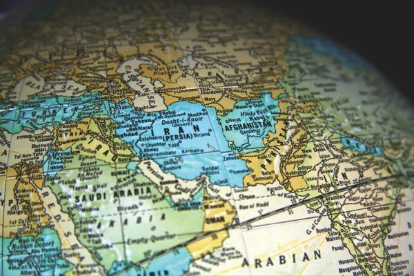 Middle-East-Globe