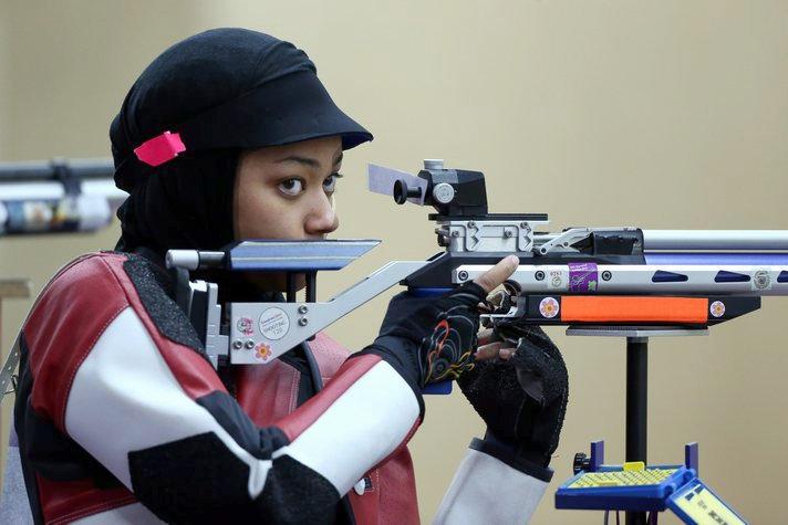 Нур Сурьяни Мохамад Таиби (Малайзия, стрельба)