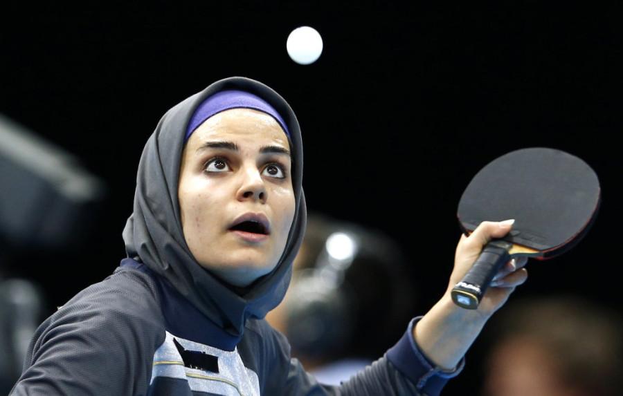 Неда Шахсавари (Иран, настольный теннис)