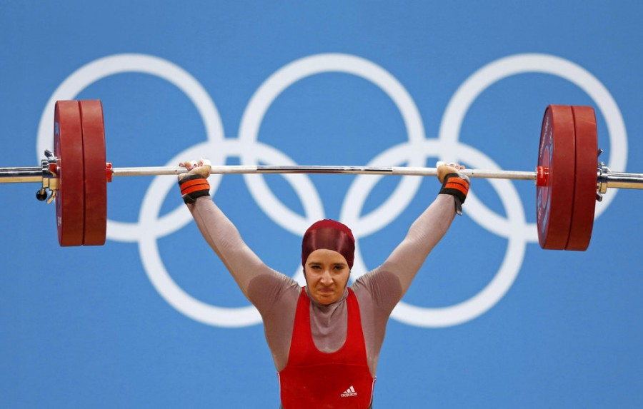 Гада Хассине (Тунис, тяжелая атлетика)