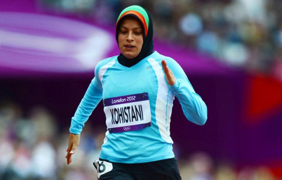Тахмина Кохистани (Афганистан, легкая атлетика)