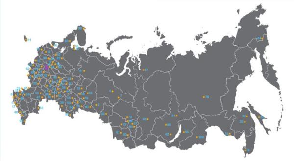 Счастливые города России