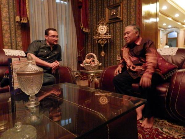 with leader of Muhammadiyah