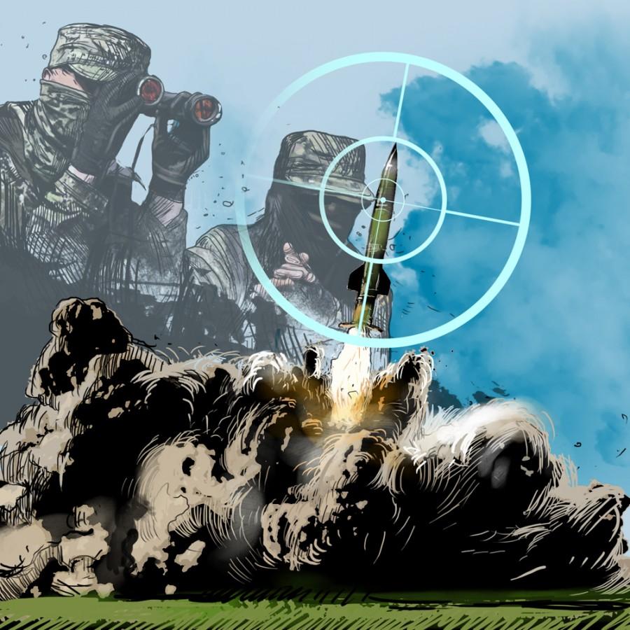 Ополченцы сбили под Луганском ракету