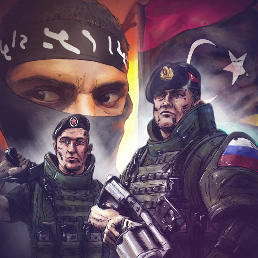 Россия может присоединиться к борьбе с террористами в Ливии
