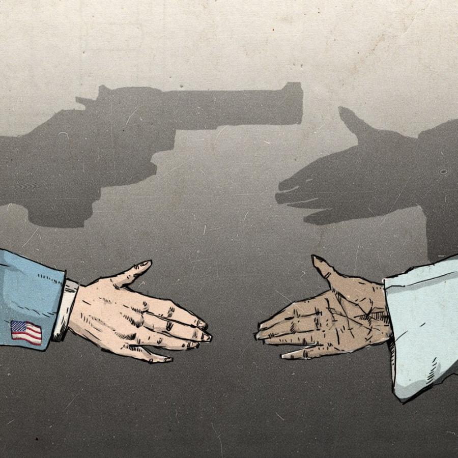 Запад ведет активную информационную войну, используя заведомо ложную и непроверенную информацию.