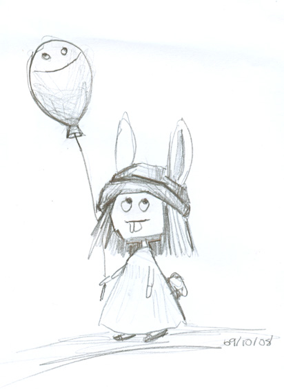 A Bunny and a Balloon