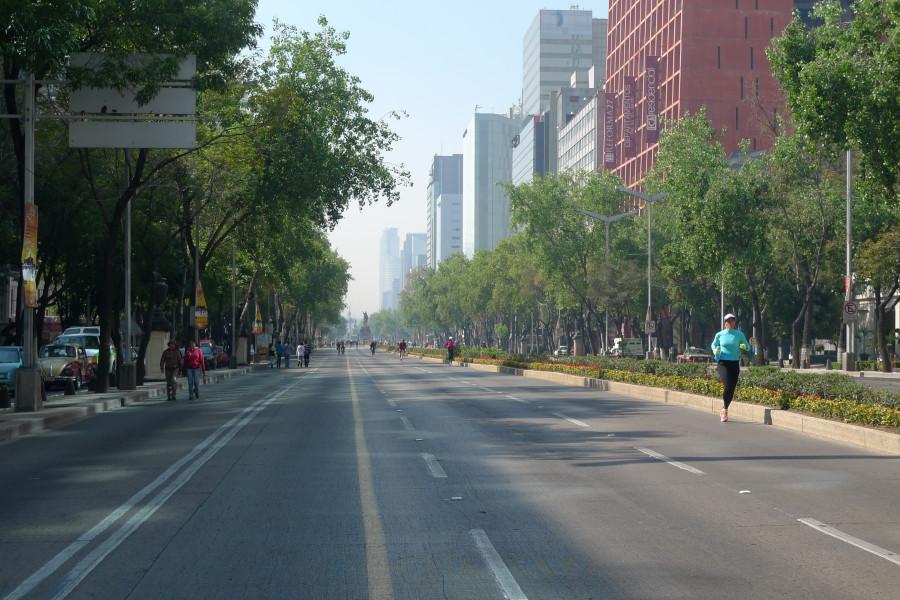 Вот такой вот невломически переполненный Мехико сити
