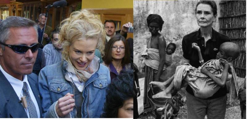 С миссией доброй воли: Кидман в Косово, Хепберн в Сомали