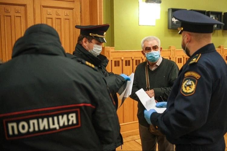 В Москве прошли облавы на пенсионеров