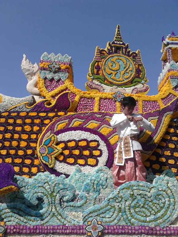 цветочный фестиваль Чианг май