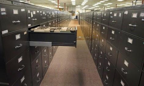 140925 Fling cabinets at FBI headquarters