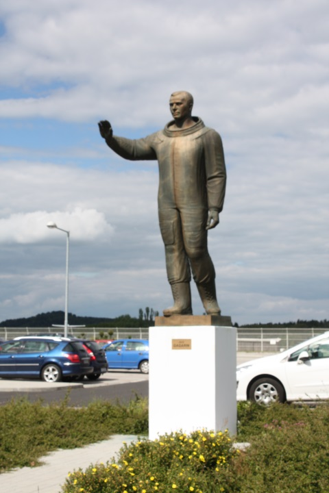 Гагарин в Карловых Варах