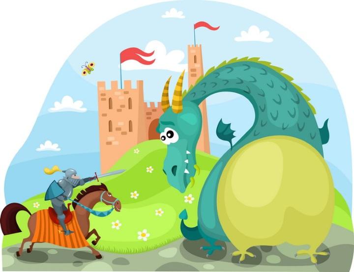 Притча о драконе и гей-рыцарях