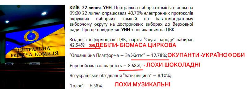5 років війни з Москвою та 12 тисяч вбитих українців ЗЕдебілам було мало