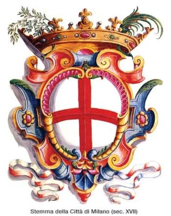 Герб Милана 17-го века