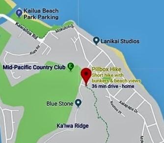 Lanikai Pillpox Hike