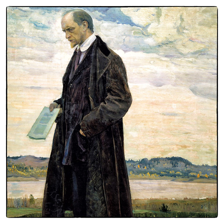 Портрет философа И. А. Ильина