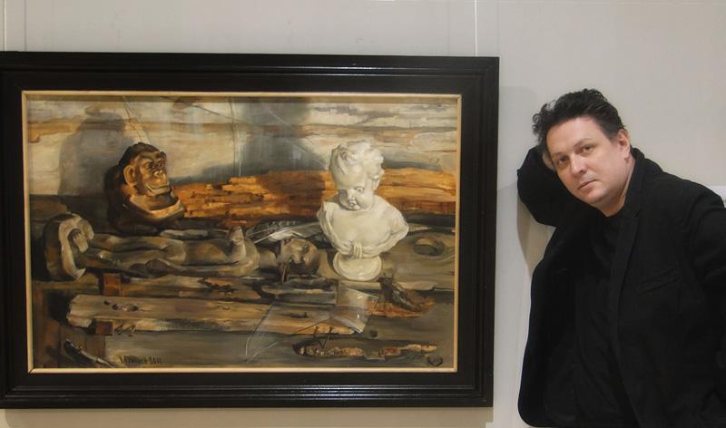 На выставке Ю. Данича