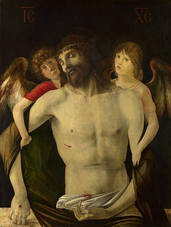 «Мертвый Христос, поддерживаемый ангелами»