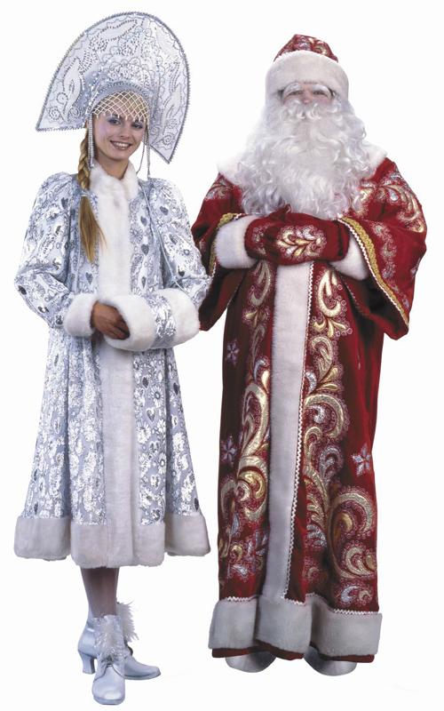 Дед Мороз и Снегурочка в Уфе