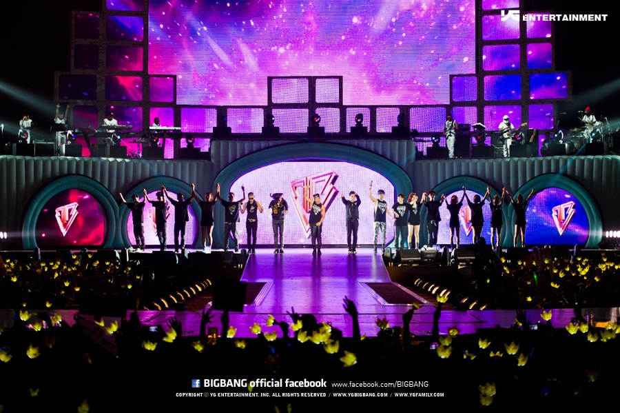 BIGBANG ALIVE CONCERT IN SINGAPORE 2012