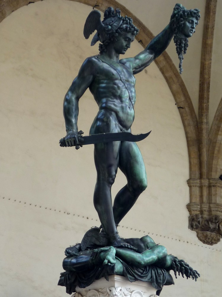 Perseo_of_Benvenuto_Cellini