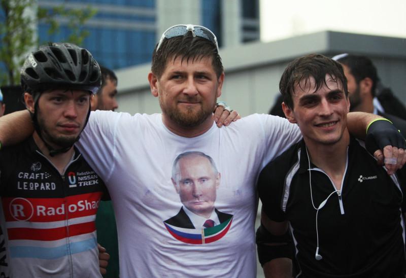 Кадыров футболке