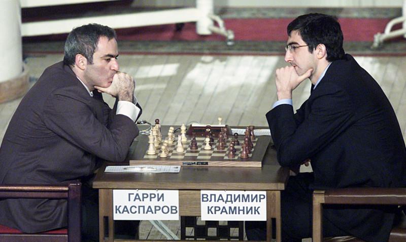 Крамник Каспаров