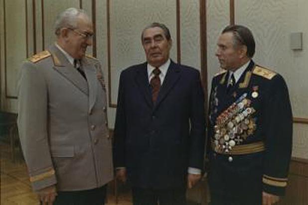 Брежнев Щёлоков Андропов