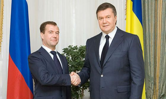 Медведев Янукович