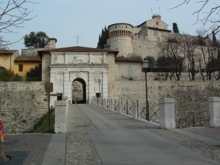 Entrance to Castello