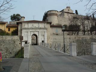 Entrance to Castello