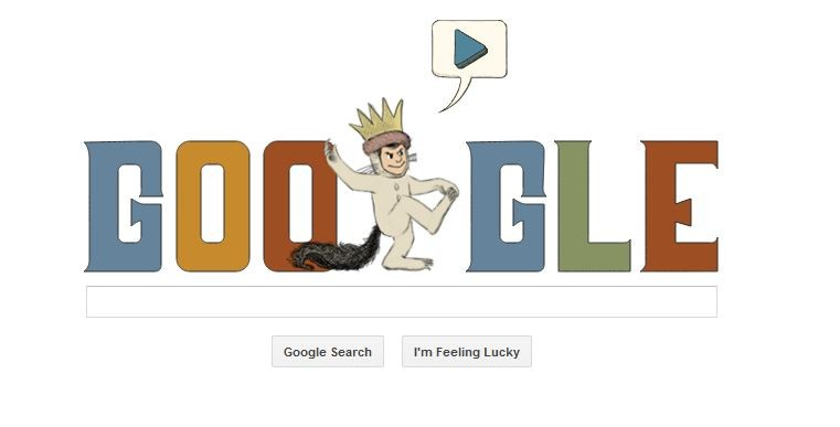 Google Doodle for Maurice Sendak