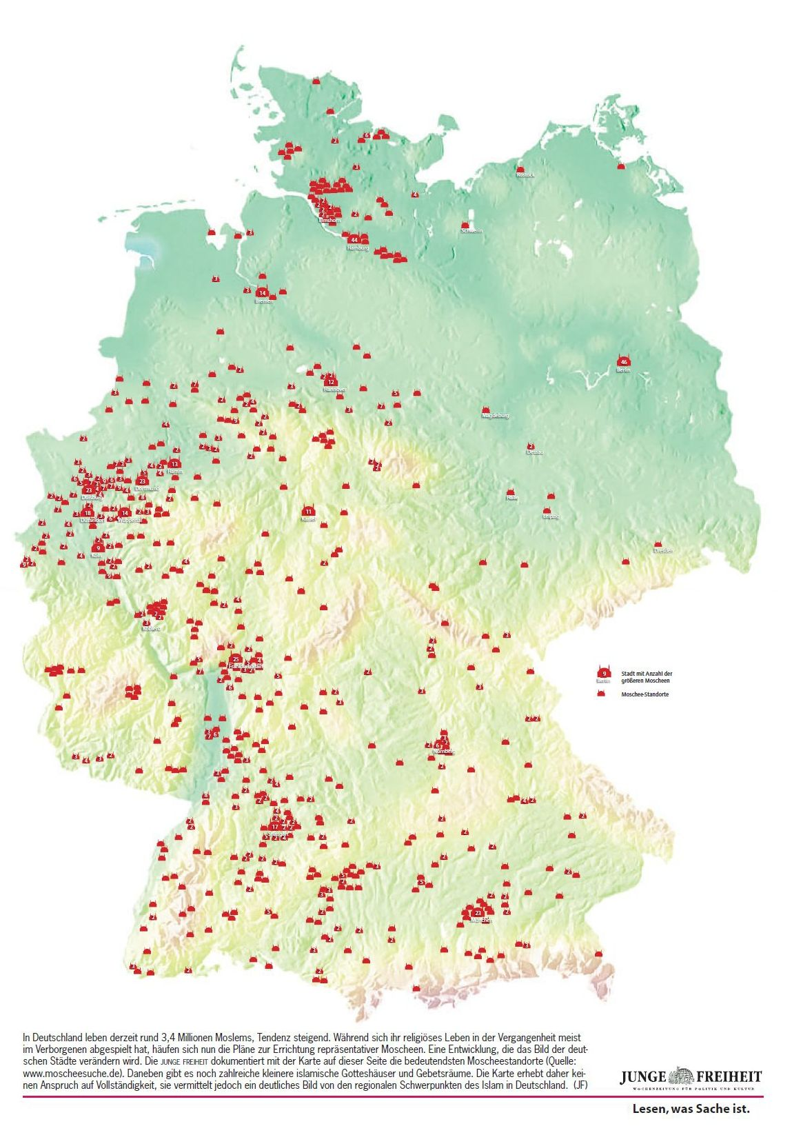 Германия-мечети
