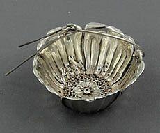 13 Gorham antique sterling silver poppy shaped tea infuser -Circa 1900.jpg