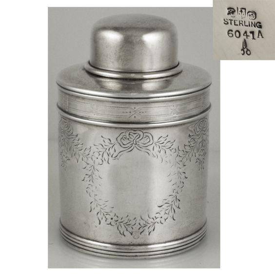 17 Gorham sterling silver tea caddy, c1891.jpg