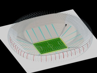 Йоханнесбург Соккер Сити Johannesburg Soccer City Stadium