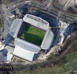Stadion Galgenwaard стадион Галгенваард