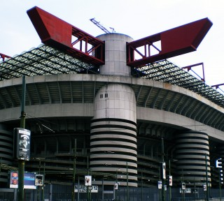 San Siro Сан Сиро Джузеппе Меацца Stadio Giuseppe Meazza